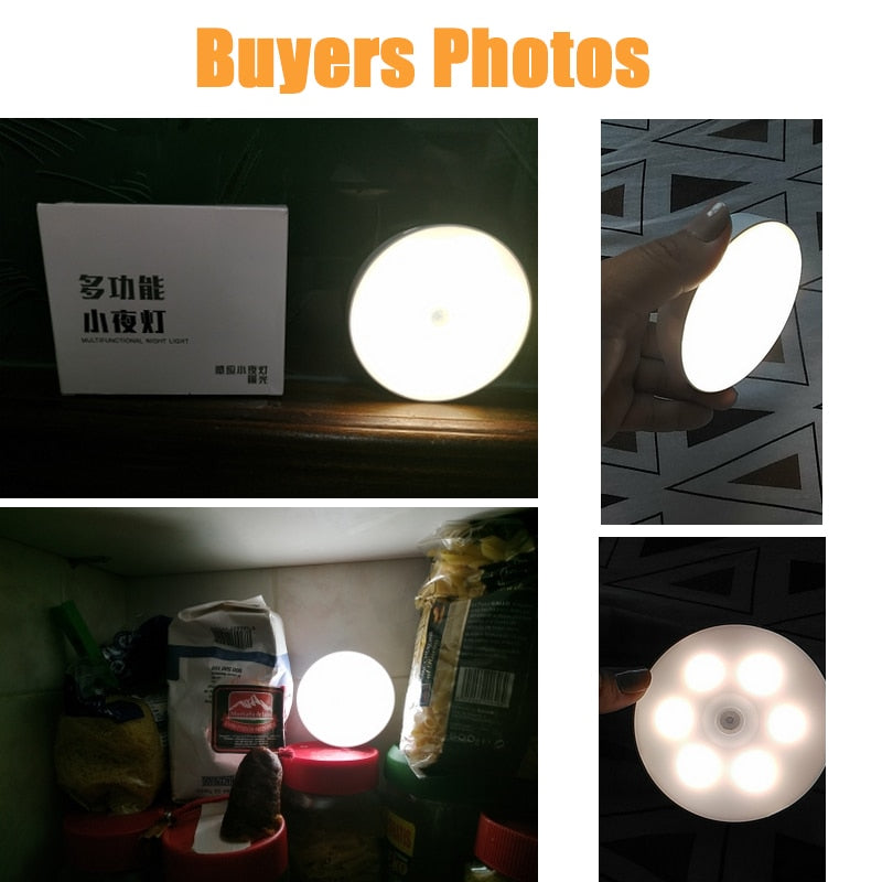 LED Motion Sensor Auto Wireless Wall Lamp - LED Lights - Motion Sensor Light