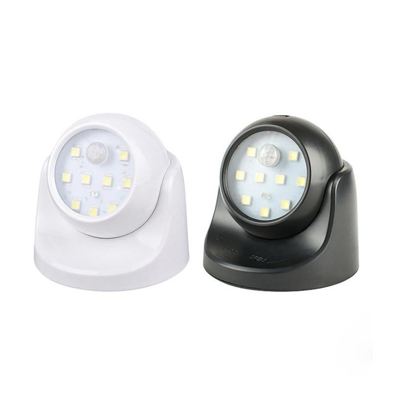Wireless Detector Night Light Wall Lamp