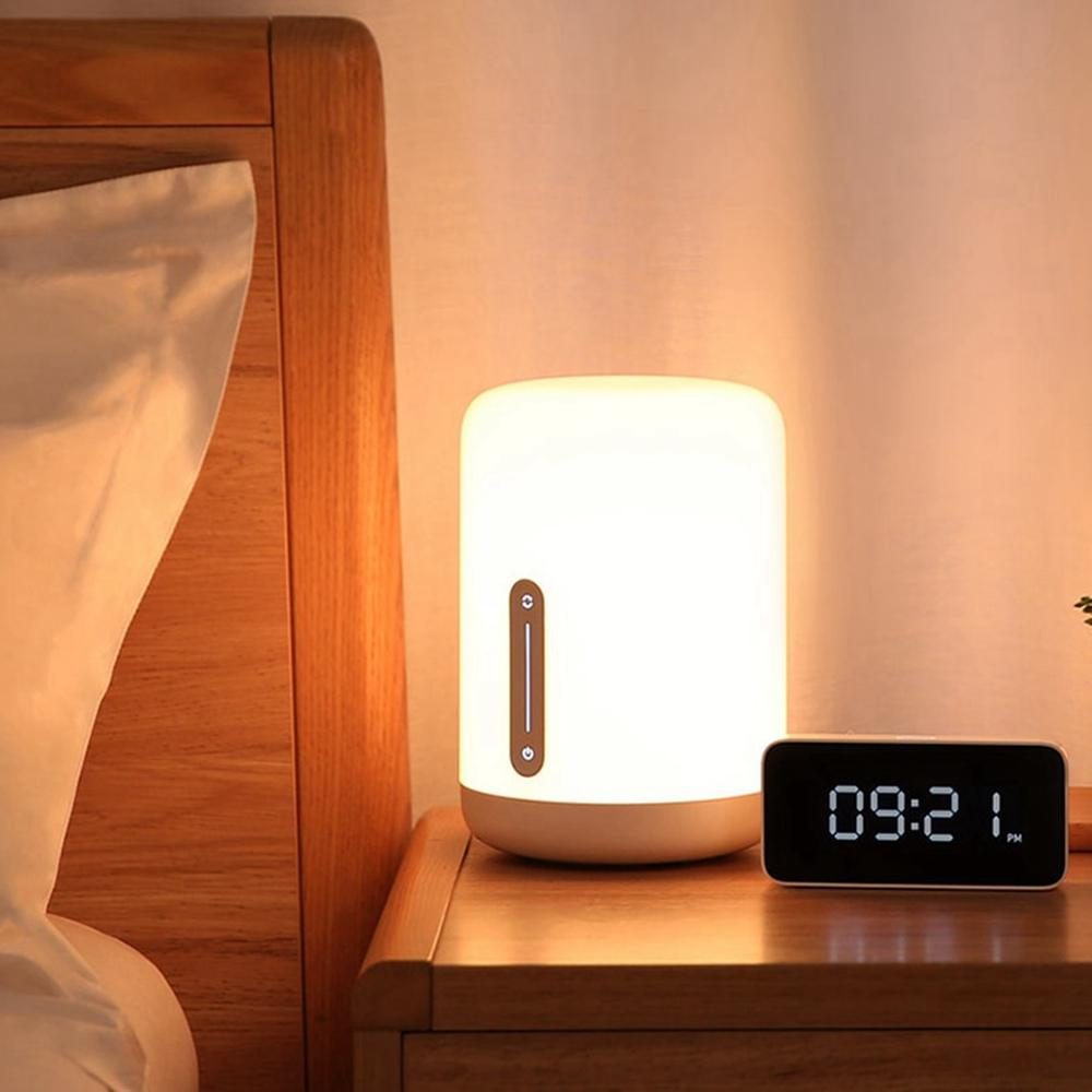 bluetooth WiFi Touch APP Control Colorful Bedside Table Lamp - desk Lamp - USB Desk Lamp