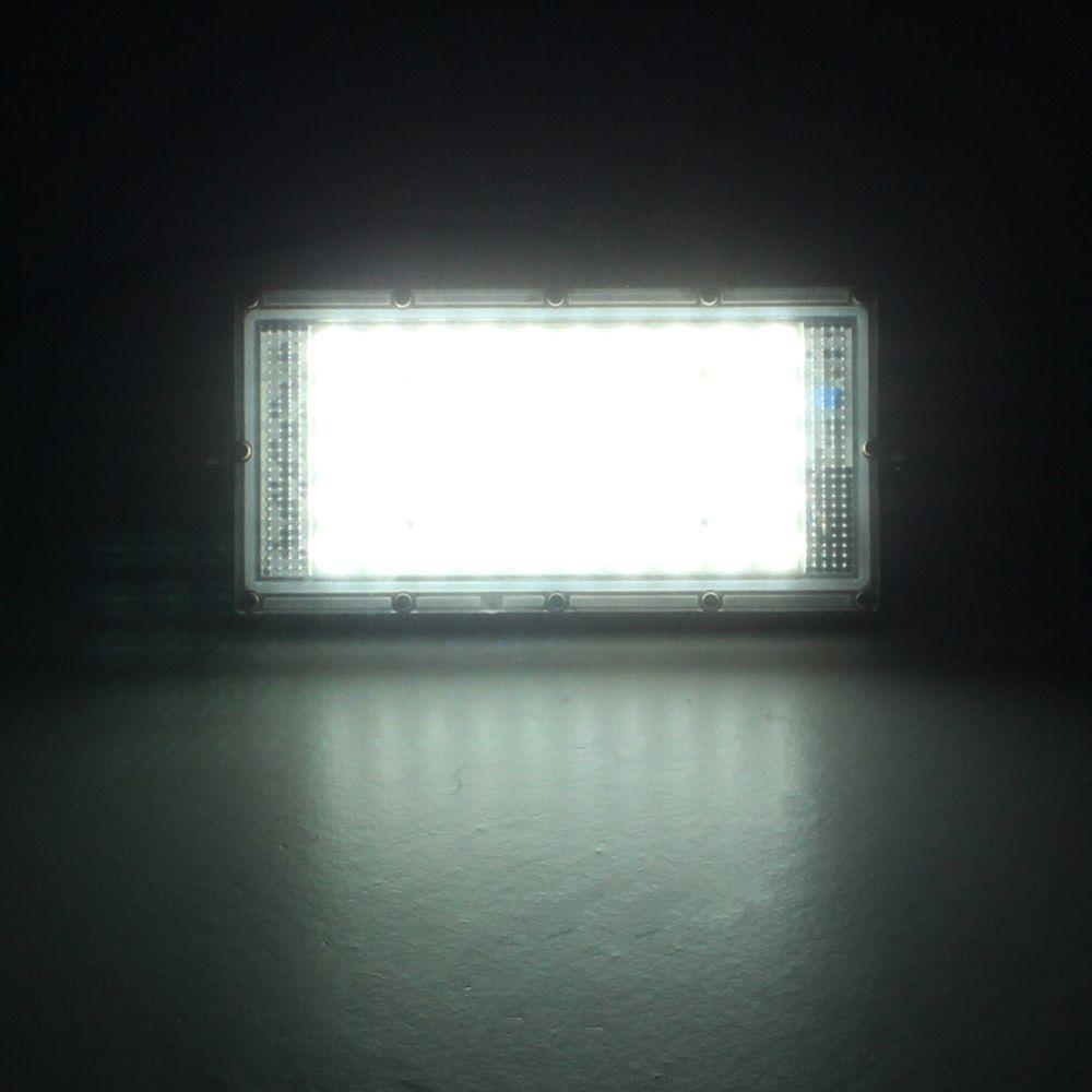 Waterproof LED Flood Light with Lens White Light - Outdoors Lamp - Spotlight