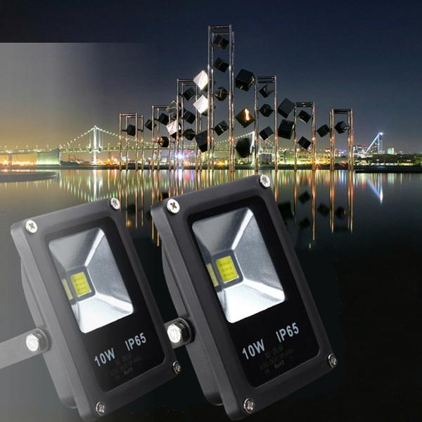 10W White/Warm White IP65 LED Flood Light - Night Light - Lamp  LED Light