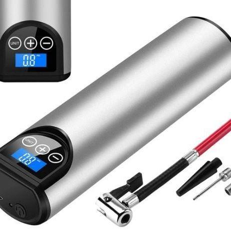 Powerful Portable Cordless Air Pump, For Bike and Car Tires