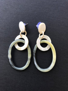 Long Statement Earrings HE-190