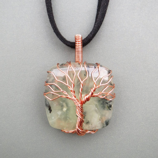 Nephrite Tree Of Life Necklace