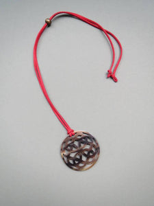 Round Pendant Necklace HPN-005