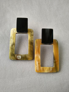 Classic Rectangle Earrings