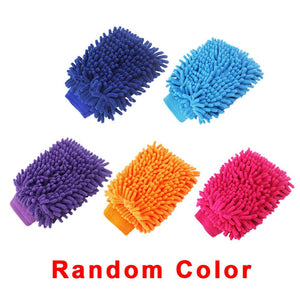 Car Wash Cleaning Glove Motorcycle Microfiber Washer Brush Cleaning Care Tool