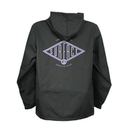 Diamond Windbreaker - Black
