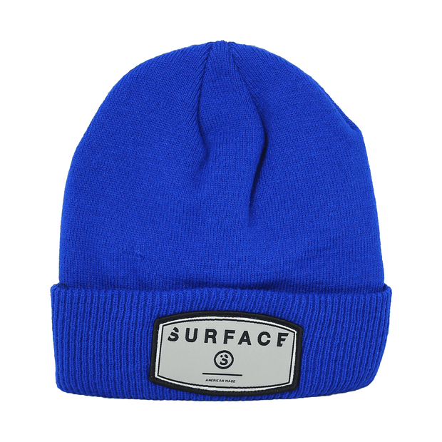Patch Beanie - Royal
