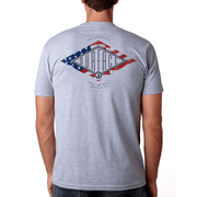 The Patriot Tee - Heather Gray