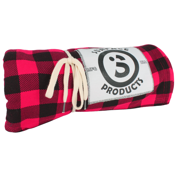 Super Soft Blanket - Red Plaid