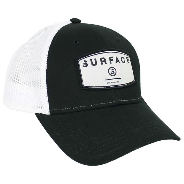 Patch Trucker - Black/ White