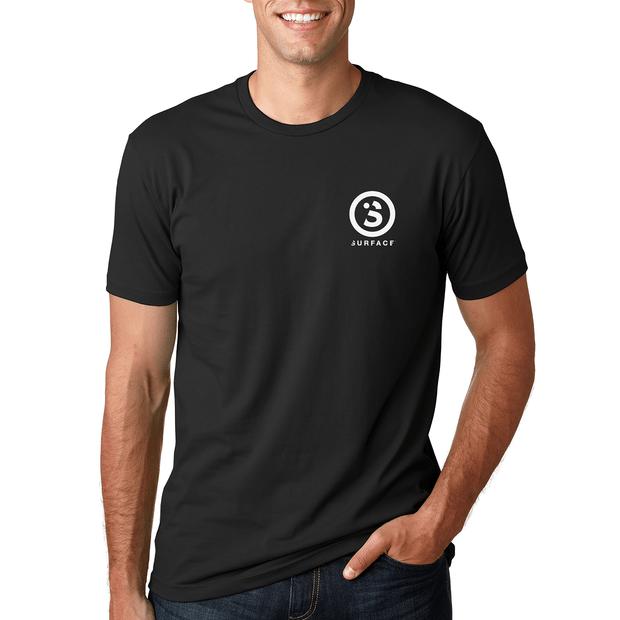 Stacked Tee - Black