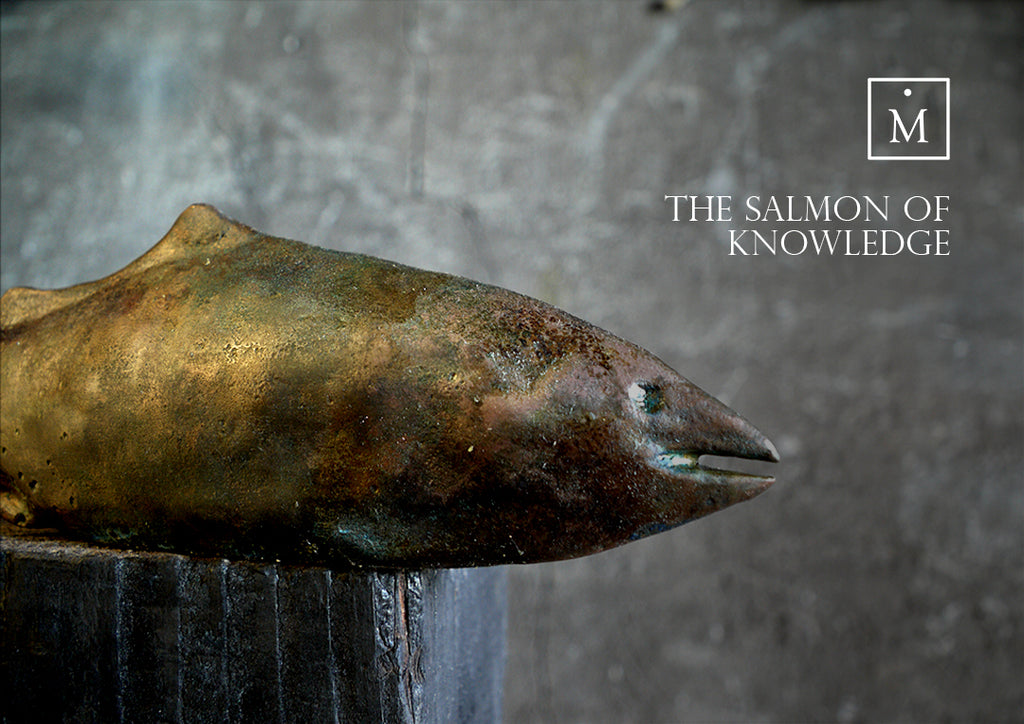 The Salmon of Knowledge Bronze Sculpture