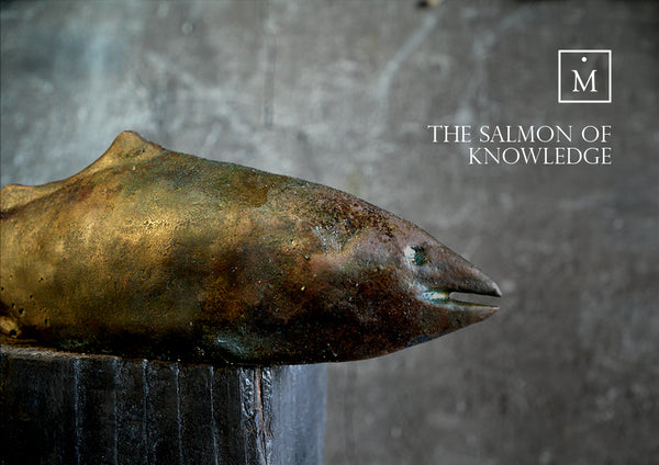 The Salmon of Knowledge Bronze Sculpture by Charlie Mallon
