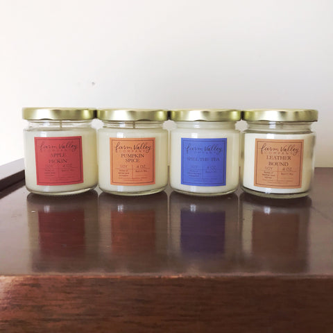 Fall's Biggest Fan Sample Bundle, 4 oz each.