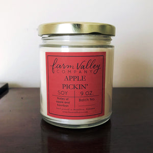 """Apple Pickin'"" Candle, 9 oz."