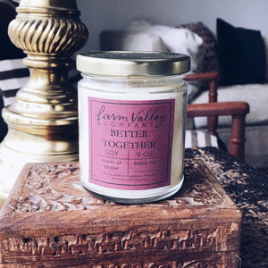 """Better Together"" Candle, 9 oz."