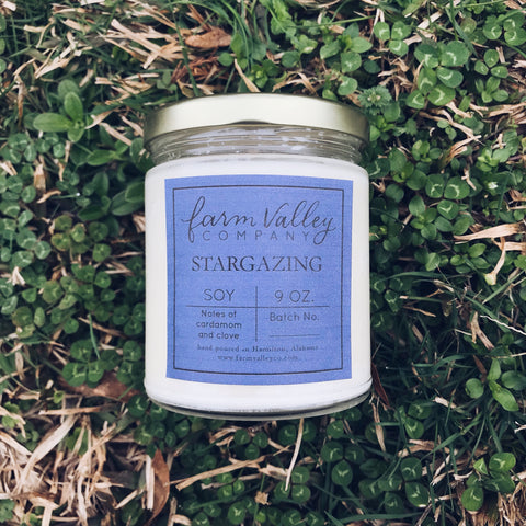 """Stargazing"" Candle, 9 oz."