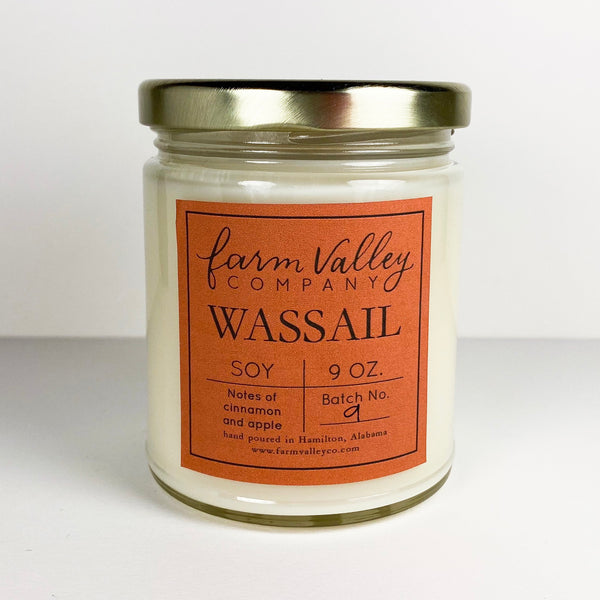 """Wassail"" Candle, 9 oz."