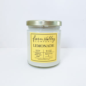"""Lemonade"" Candle, 9 oz."
