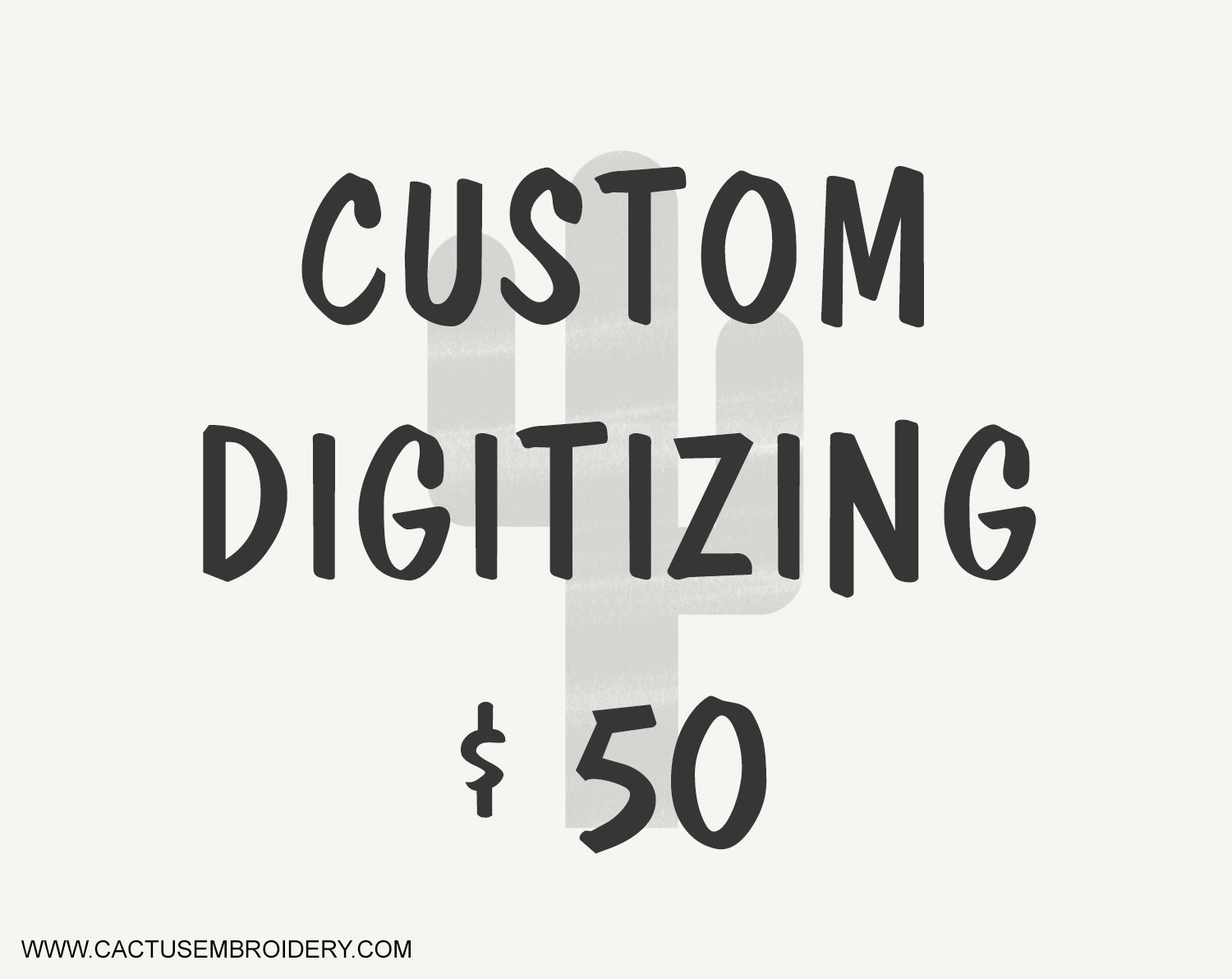 Custom Digitizing, Your logo digitized $50