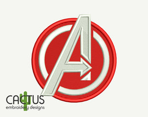 A-Team Embroidery Design