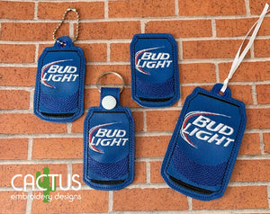 BL Beer Set of Bookmark\Bag Tag, Eyelet Fob, Feltie, Snap Tab & Sanitizer Holder