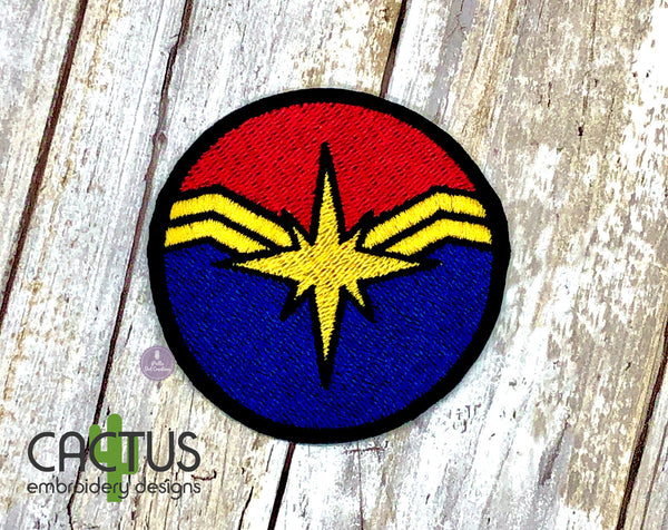 Captain M Embroidery Design