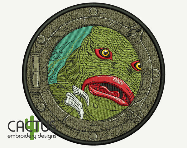 Creature Embroidery Design