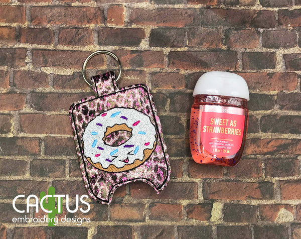 Donut Sanitizer Holder, SMALL and LARGE sizes