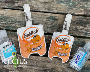 F Crackers Sanitizer Holder, SMALL and LARGE sizes