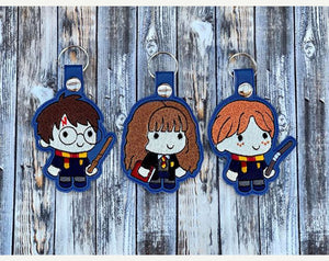 Golden Trio set of 3 Snap Tabs