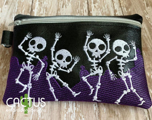 Graveyard Zipper Bag