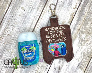 Handbook Sanitizer Holder