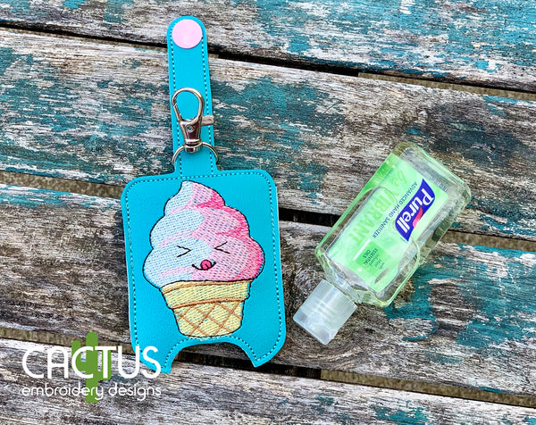 Ice Cream Sanitizer Holder, SMALL and LARGE sizes