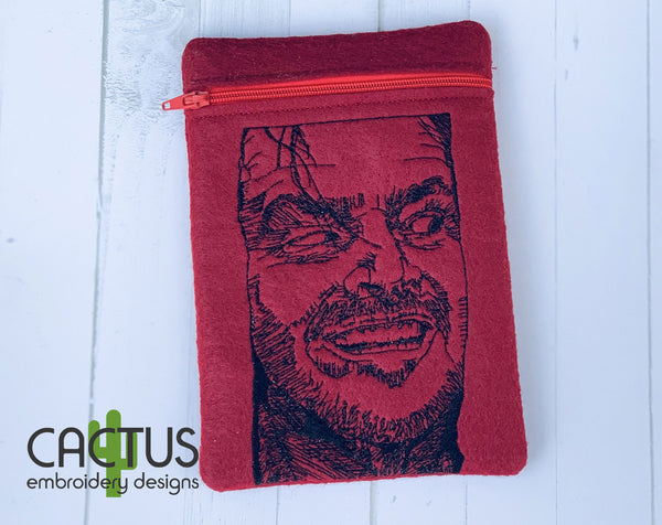Johnny Embroidery Design & ITH Zipper Bag