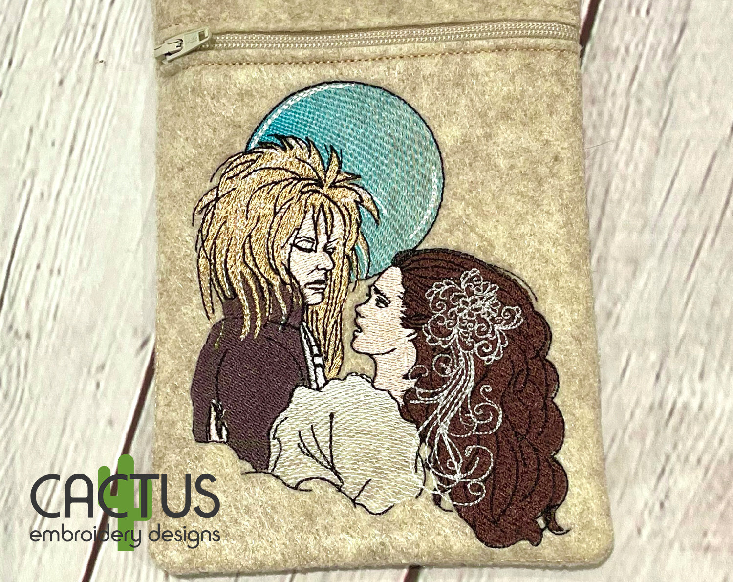 Labyrinth Embroidery Design