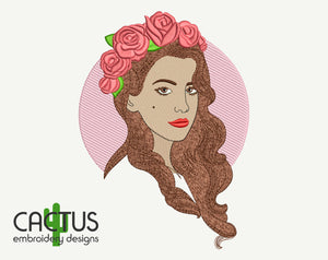 Lana Embroidery Design