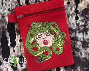 Medusa Embroidery Design
