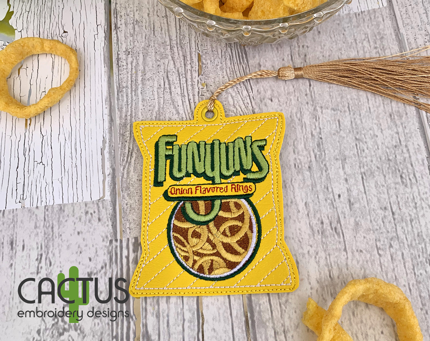 Onion Snack Bookmark\Bag Tag