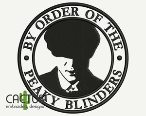 Peaky Blinders Patch Embroidery Design