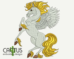 Pegasus Machine Embroidery Design