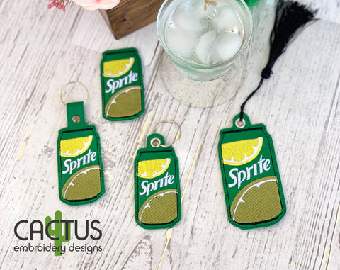 S Drink Set of Bookmark\Bag Tag, Eyelet Fob, Feltie, Snap Tab