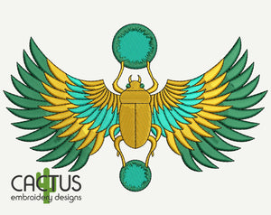 Scarabaeus Embroidery Design