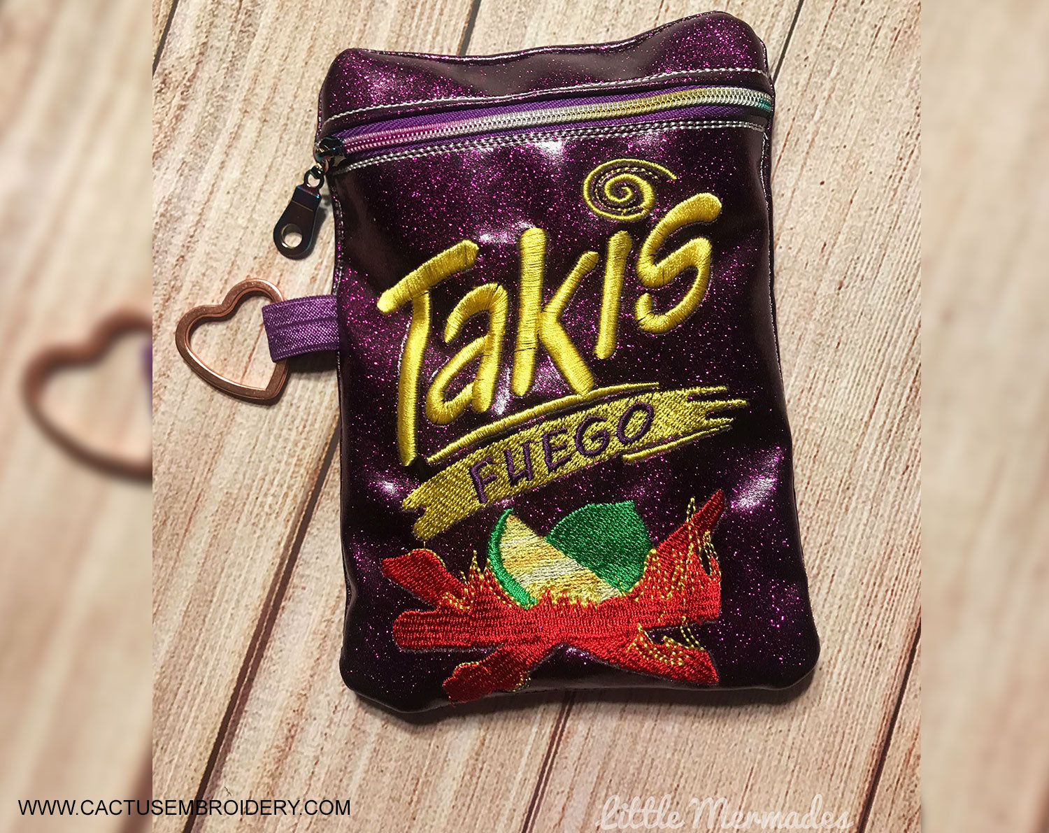 T Snack Zipper Bag