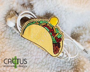 Tacos Earbud Holder