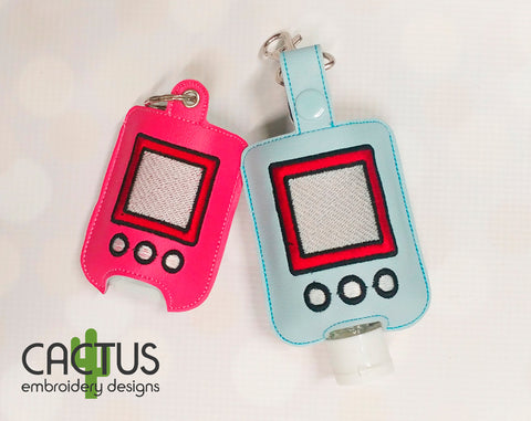 Tamagotchi Sanitizer Holder, SMALL and LARGE sizes
