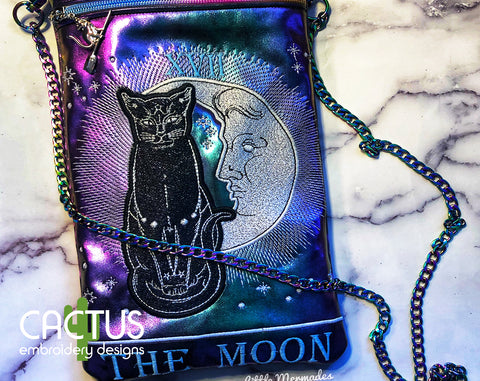 The Moon Zipper Bag