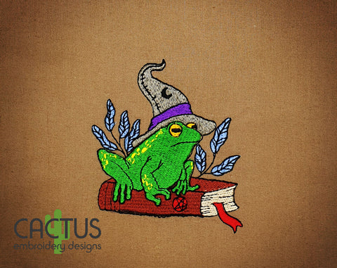 Toad Sorcerer Embroidery Design